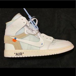 Size 12 Off-White Jordan 1 White